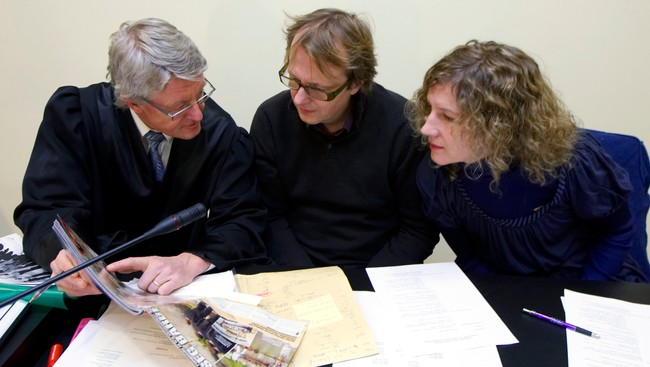 Andrine Sæther og Lars Lillo-Stenberg