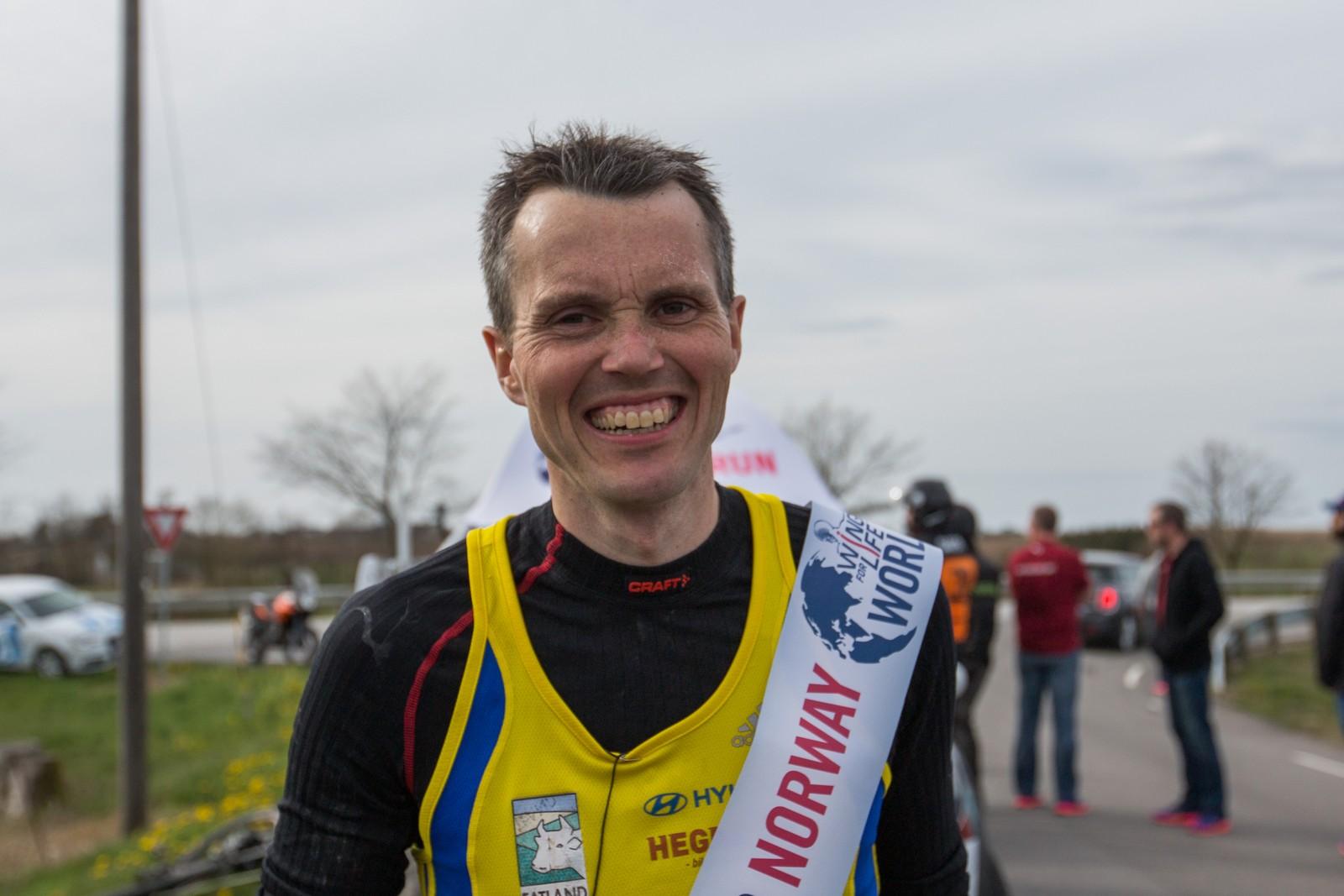 Jarle Risa vant på 58,8 km