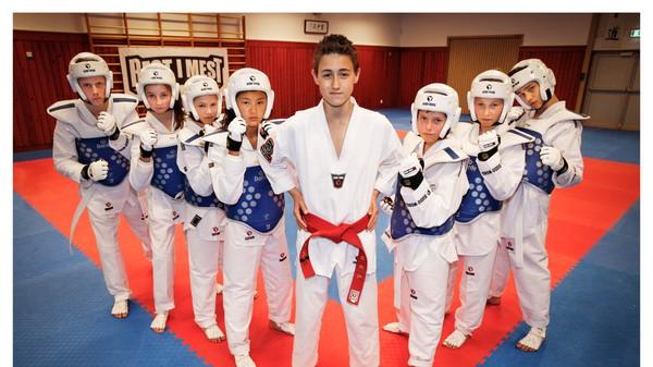 Hvem blir best i taekwondo?