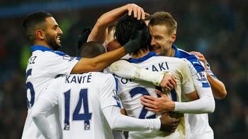 SOCCER-ENGLAND-AVL-LEI/ Aston Villa v Leicester City - Barclays Premier League