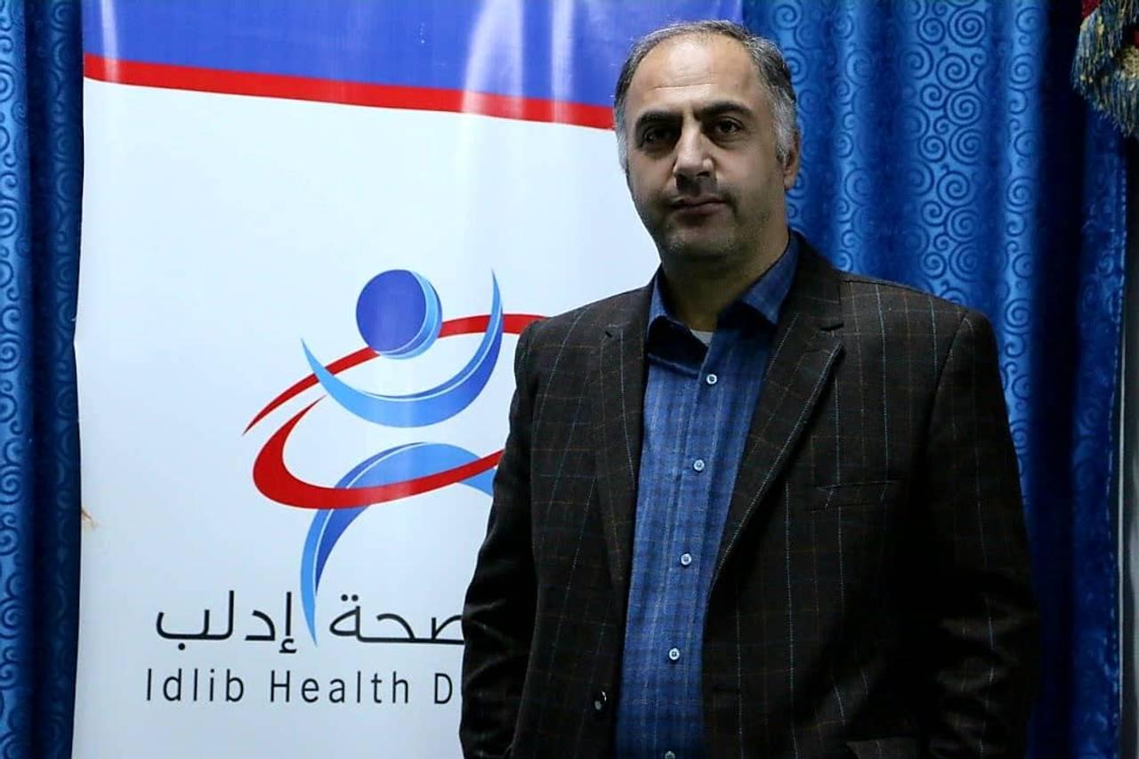 Dr. Mustafa Aledo er nestleder i helseadministrasjonen i Idlib.