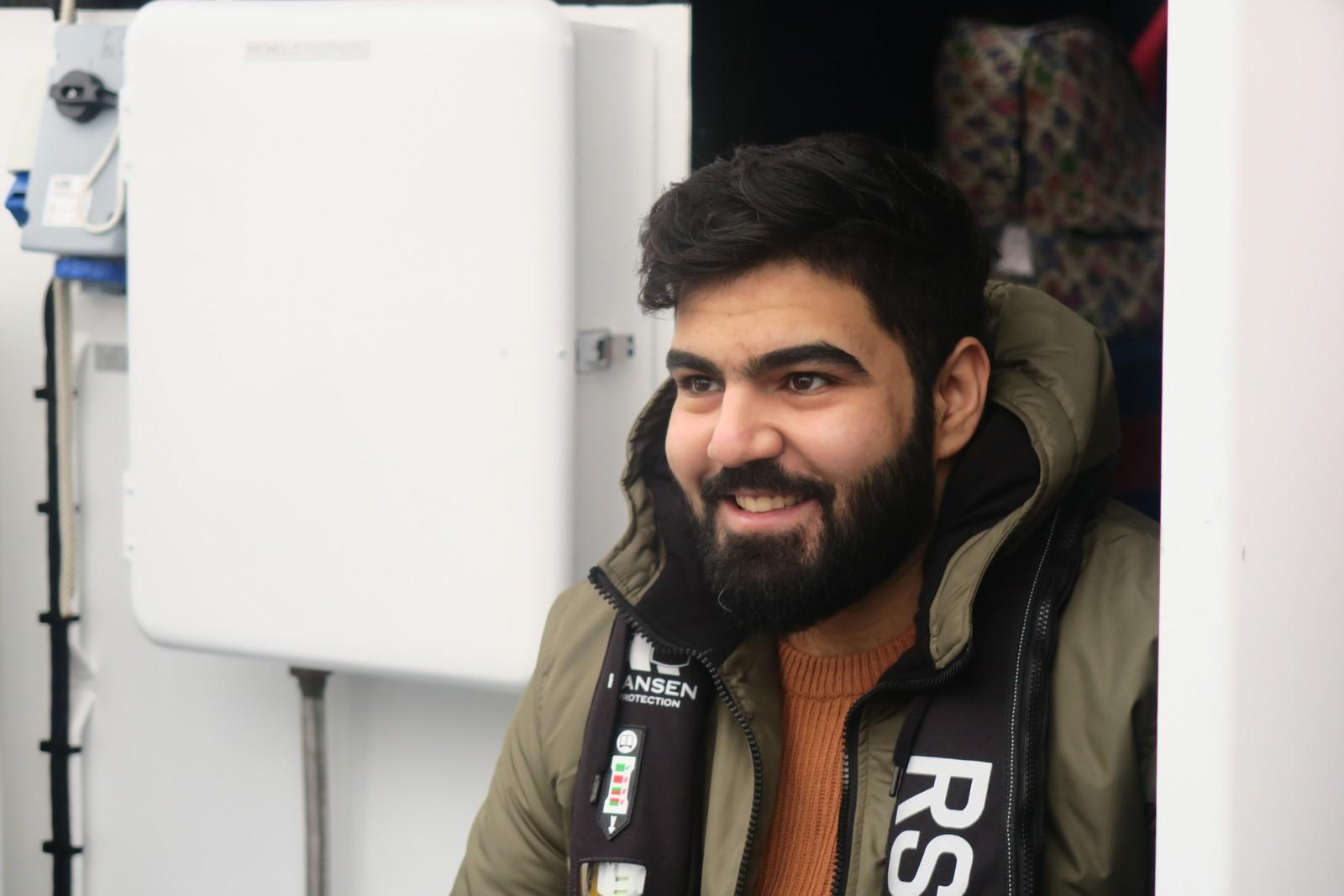 Kjærasten Mustafa slo alarm då han høyrde at Fatima hadde falle over bord.
