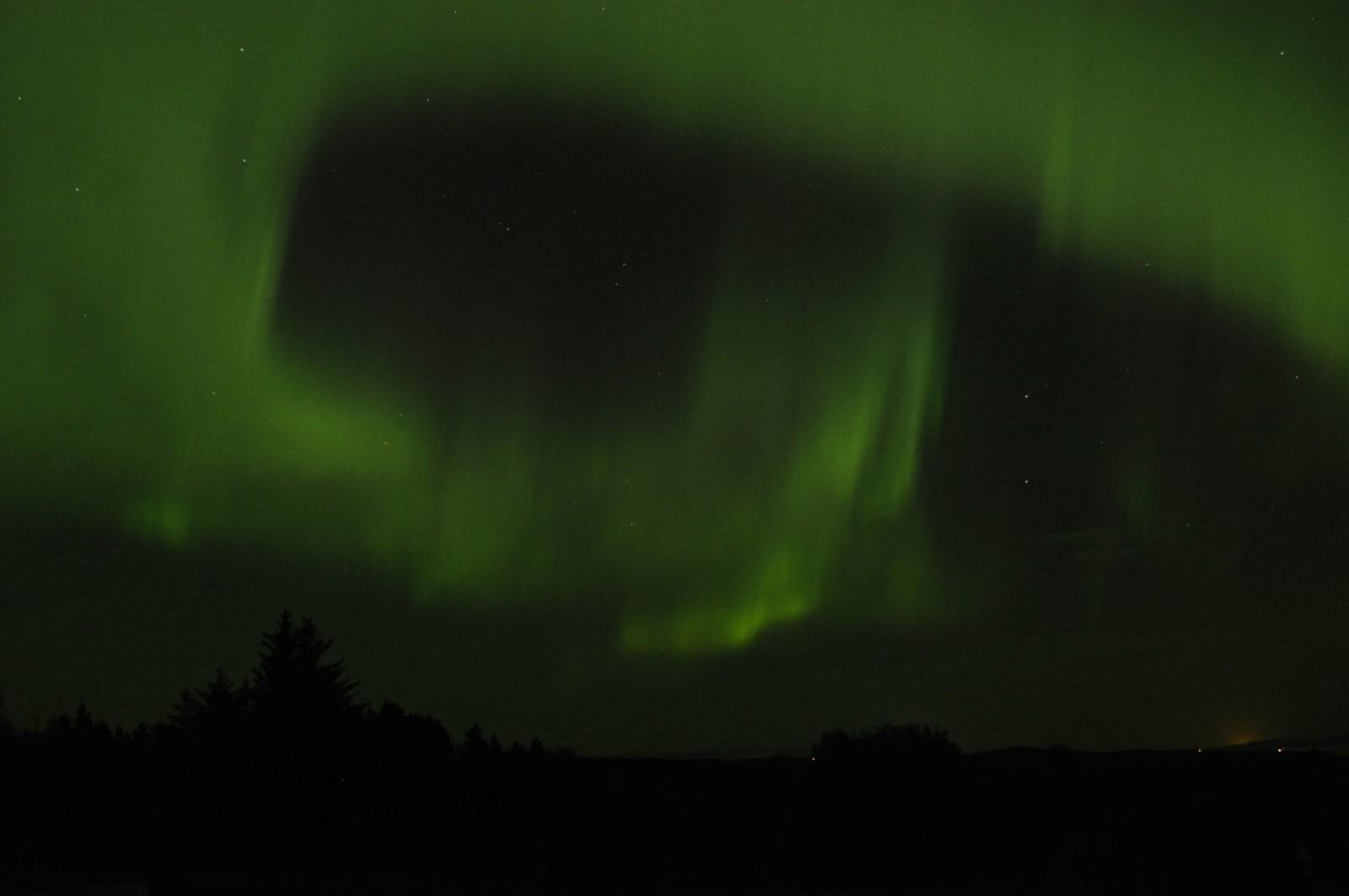 Helge Marø har tatt dette bilde fra Edøya.