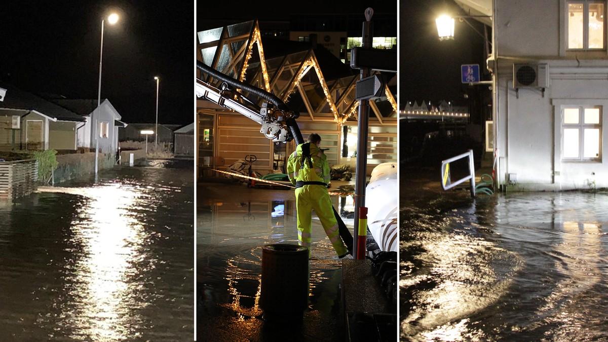 Konsekvensene av stormflo i Sør-Norge