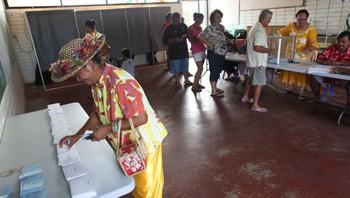 Velgere på Tahiti