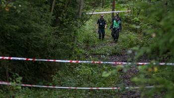 Politi i skogholt