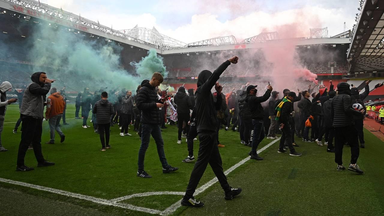 Protester i Manchester, 2