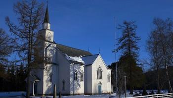 Moe kirke på Svorkmo