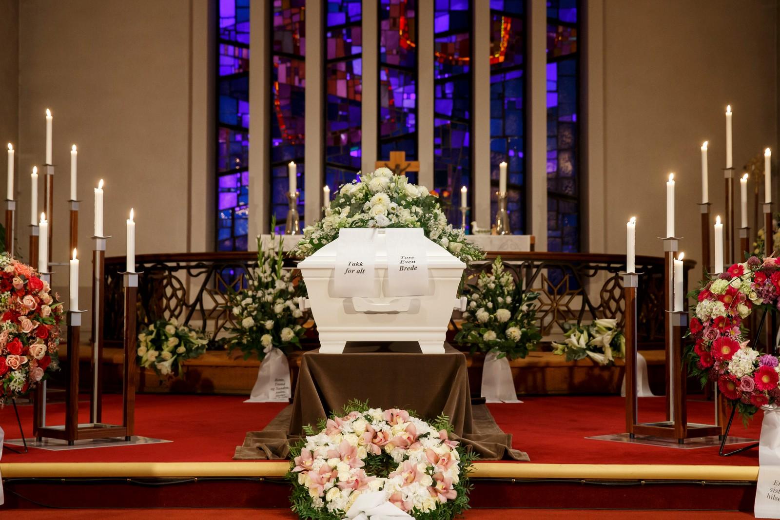 Nora Brockstedts kiste i Grefsen kirke.