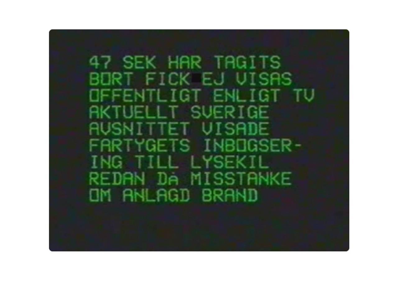 Tekst plakat i video