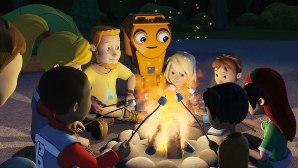 Britisk animasjonsserie. Ute i skogen.Bob og laget hjelper Phil med å gjøre i stand leirområdet til sommerleiren skal begynne.
