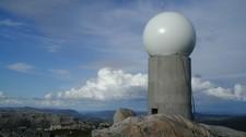 Radar Rissa (Foto: Meteorologisk institutt)