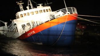 Båt har problemer på Nesodden