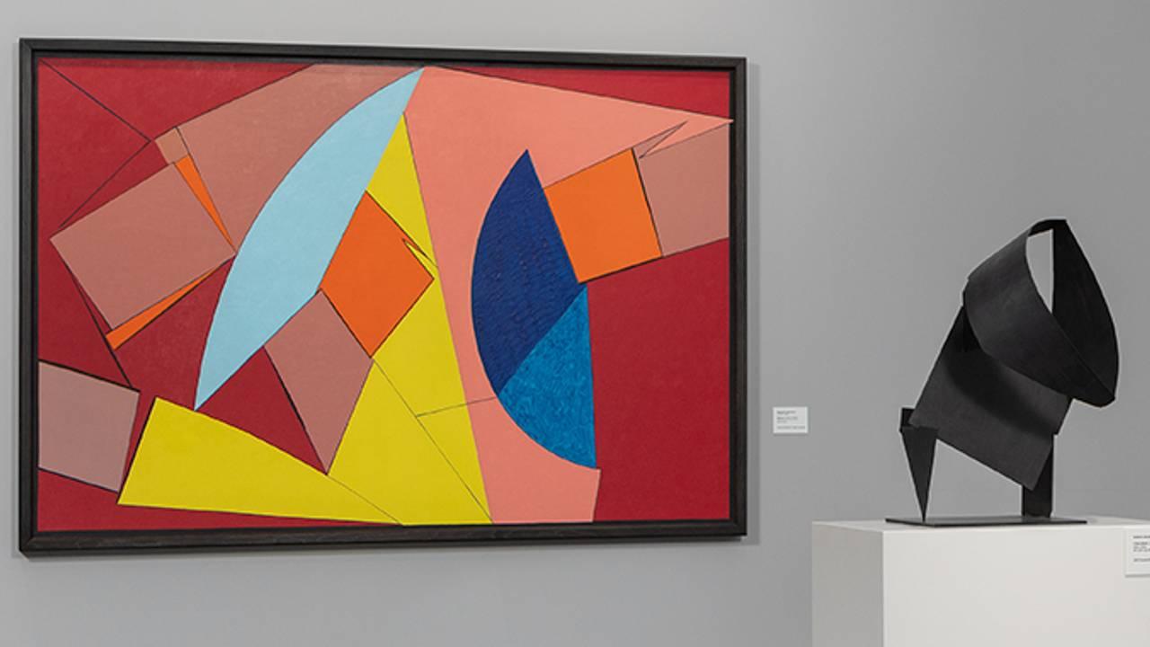 Fra utstillingen med Gunnar S. Gundersens verker.