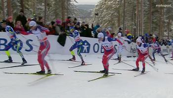 15 kilometer for menn i Falun