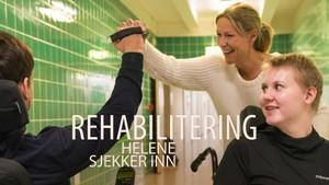 Helene sjekker inn: Rehabilitering på Sunnaas sykehus