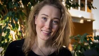 Kaja Meling Holmesland, stedlig leder for studenttinget ved NTNU Ålesund