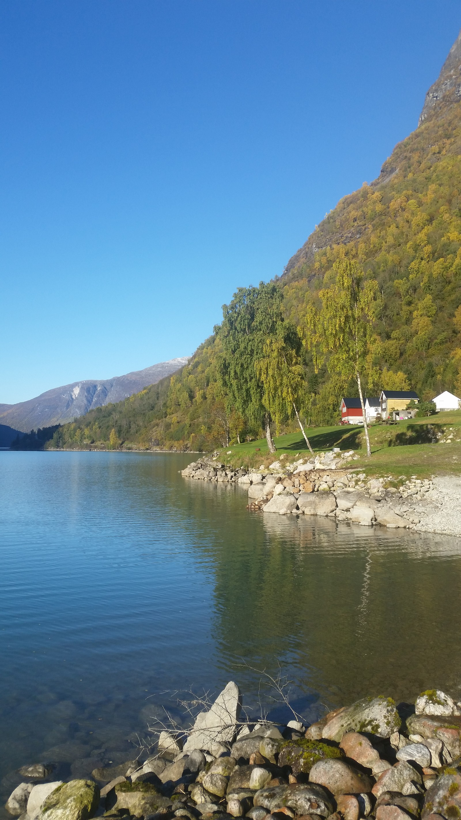 Ein fin haustdag på Helset i Lodalen 15. oktober.
