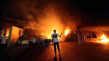USAs konsulat i Benghazi angrepet