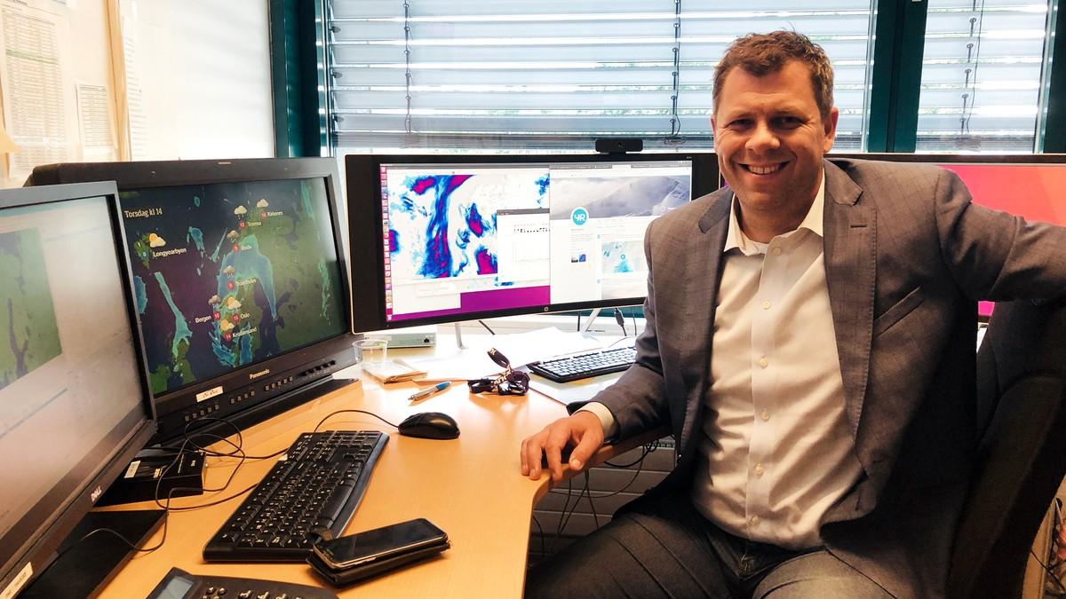 Statsmeteorolog Kristian Gislefoss