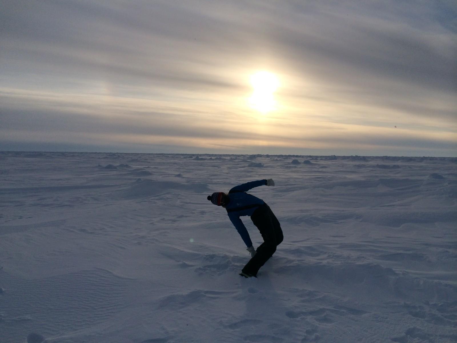 Lise Grønskar følte hun trengte nye utfordringer og landet på å løpe maraton på Nordpolen.