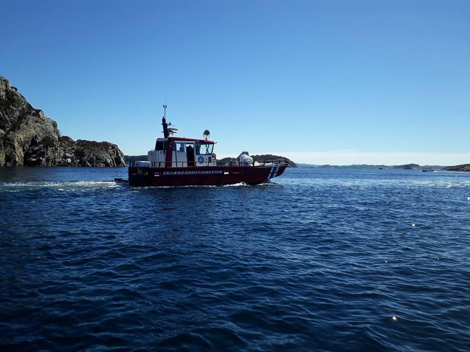 BÅT: Bergen og Omland Friluftsråd var på plass.