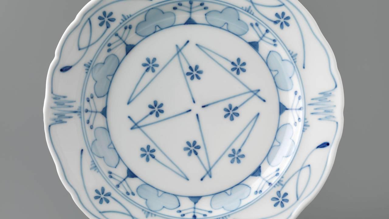 En middagstallerken fra serien