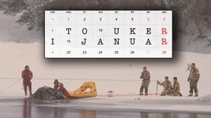 To uker i januar