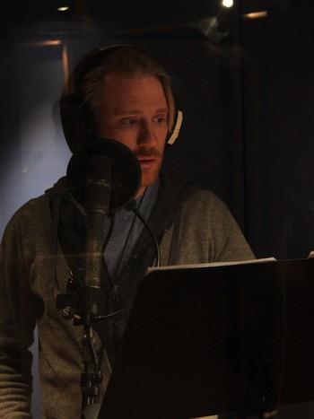 Thorbjørn Harr i studio