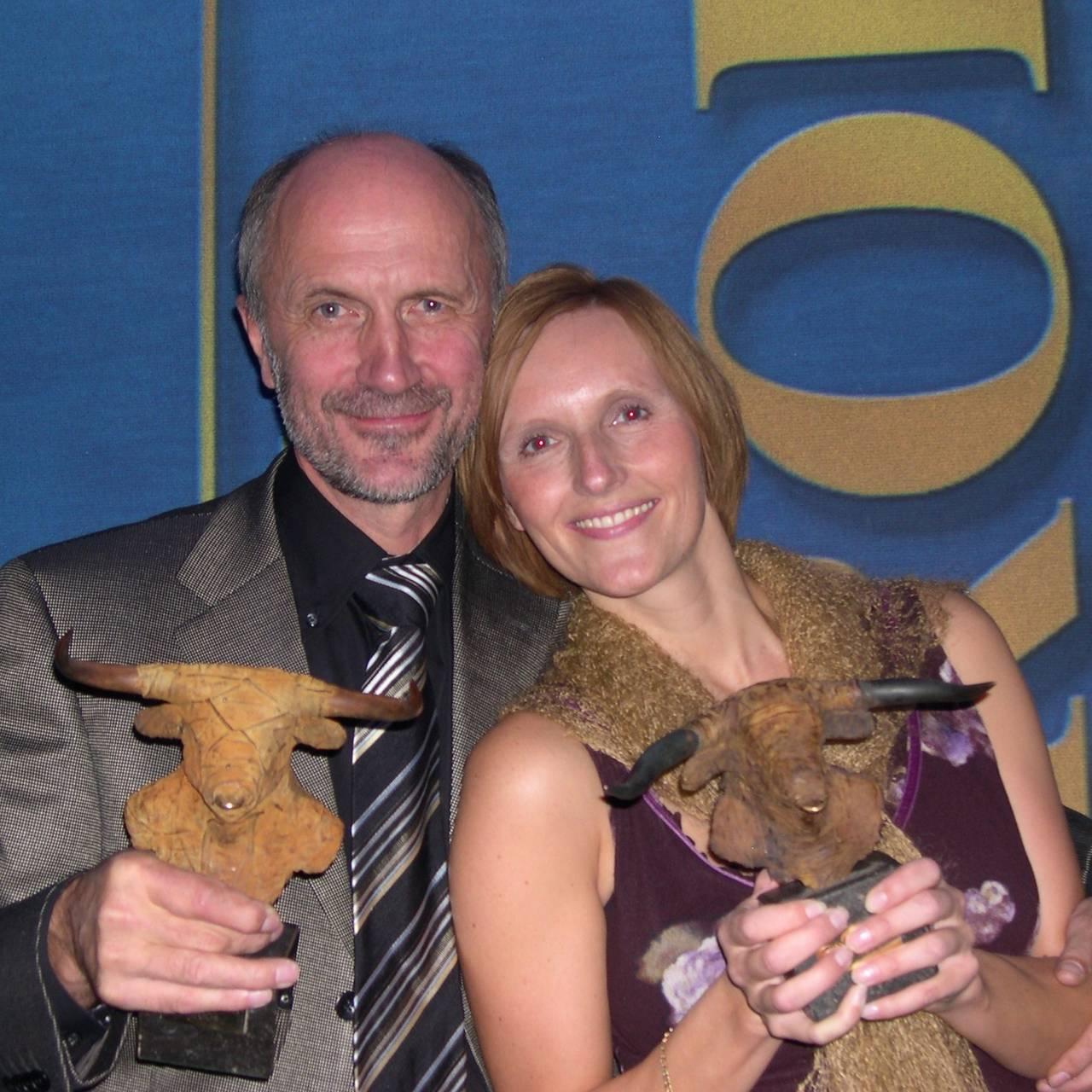 Pirx Europa 2004: Kari Hesthamar og Birger Amundsen