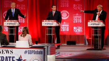 Langet ut mot hverandre under lørdagens TV-debatt
