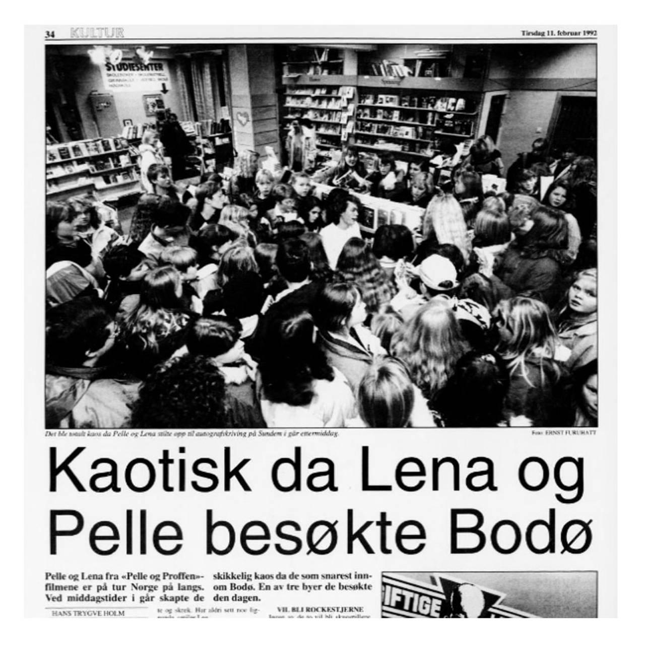 DØDEN PÅ OSLO S: Skuespillerne i Bodø.