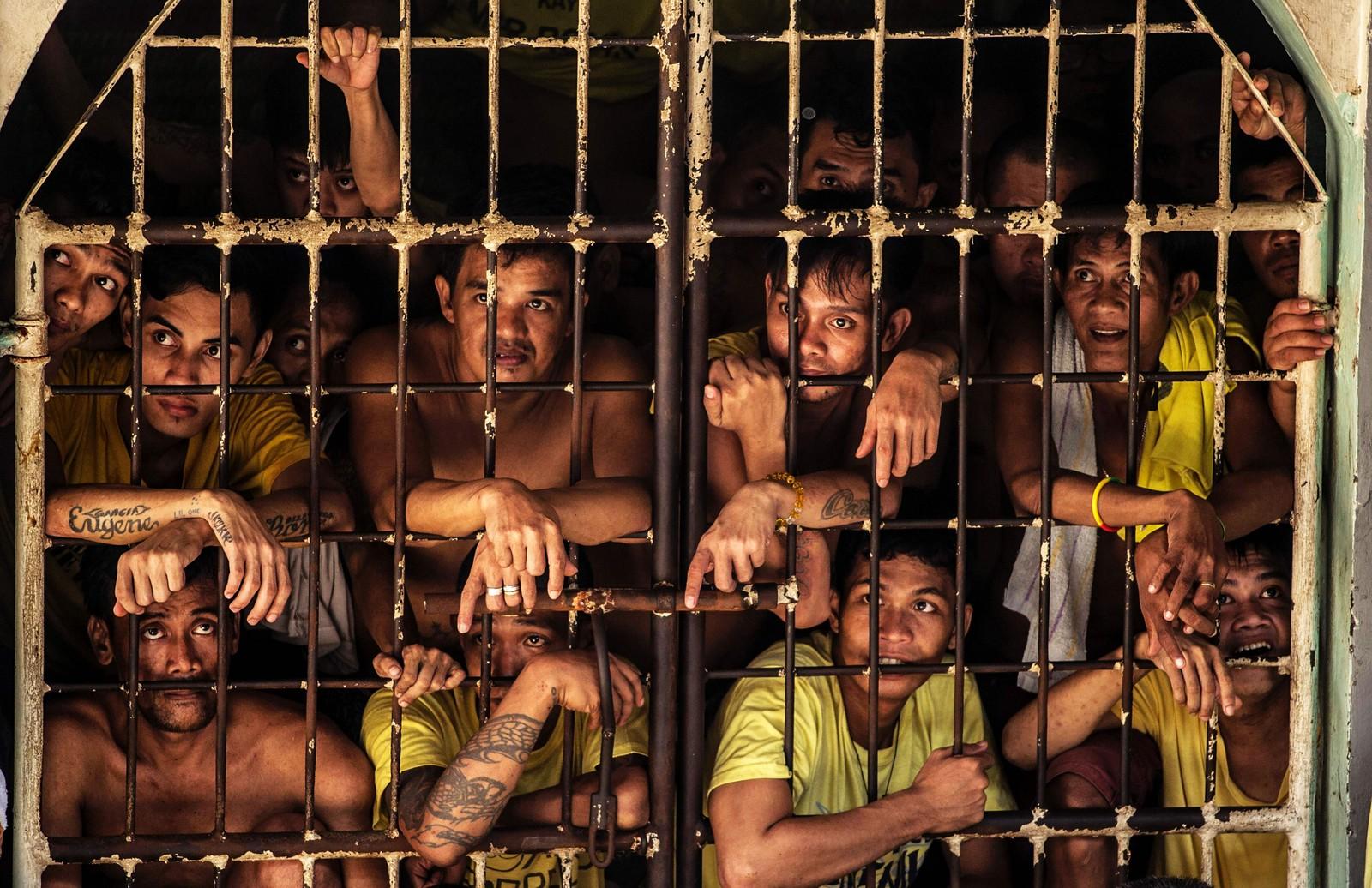 Bildene fra Quezon City-fengselet har ført til sammenligninger med Dantes «Inferno».