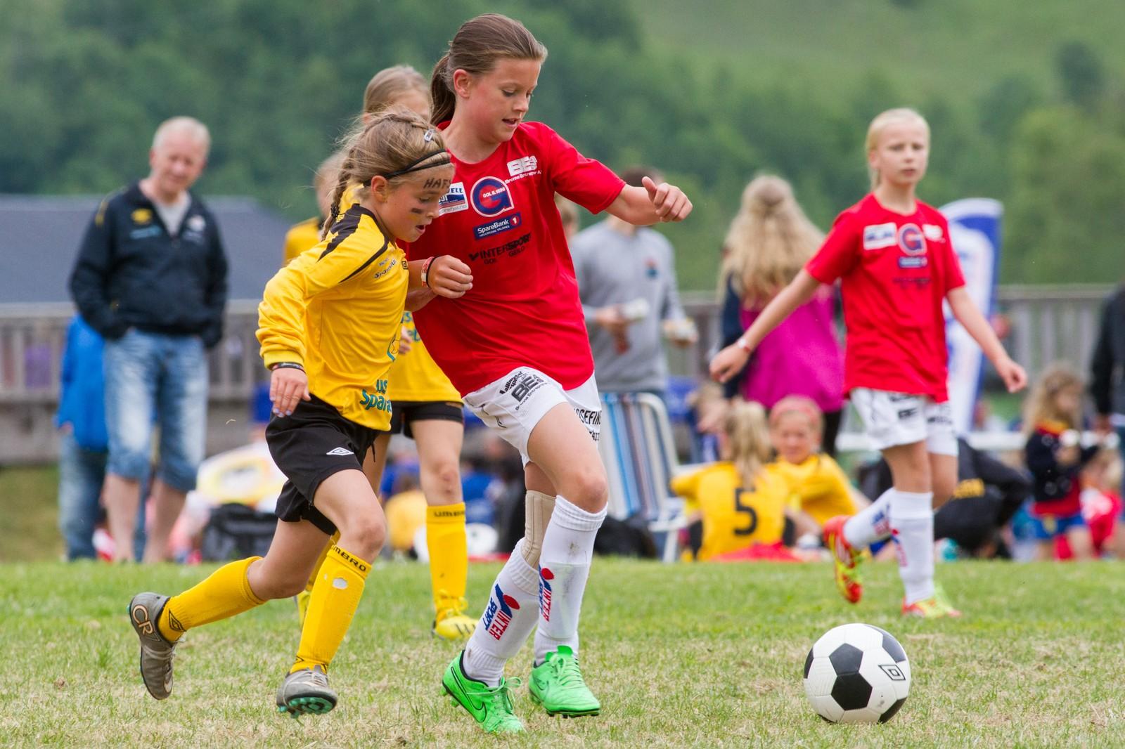 Dei 3500 fotballspelarane går inn i kvar kamp med mål om å vinne.