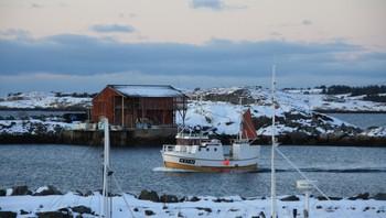 Havbris mot Røssøyvågen, Aukra