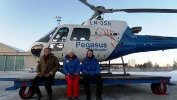 NRK Host Broadcaster aerial photo shoot of Holmenkollen