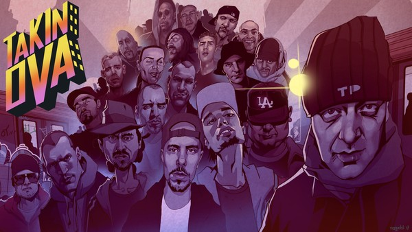 – Hiphop ble sett på som hærverk