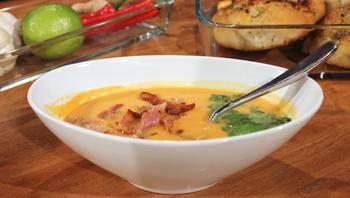 Søtpotetsuppe
