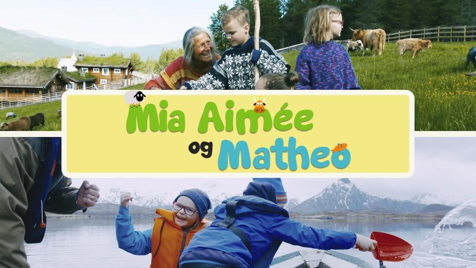 Mia Aimée og Matheo