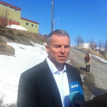 Geir Knutsen, ordfører Båtsfjord
