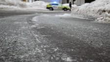 Politiet måtte en periode dirigere trafikken på Gamle Kongevei i Drammen.