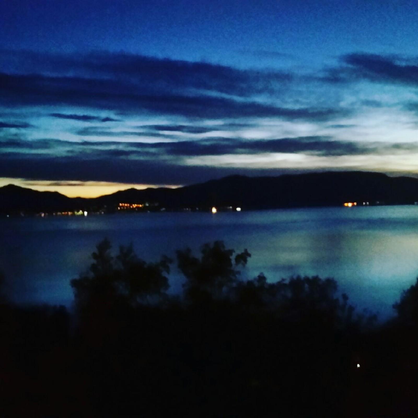 Stadlandet by night.