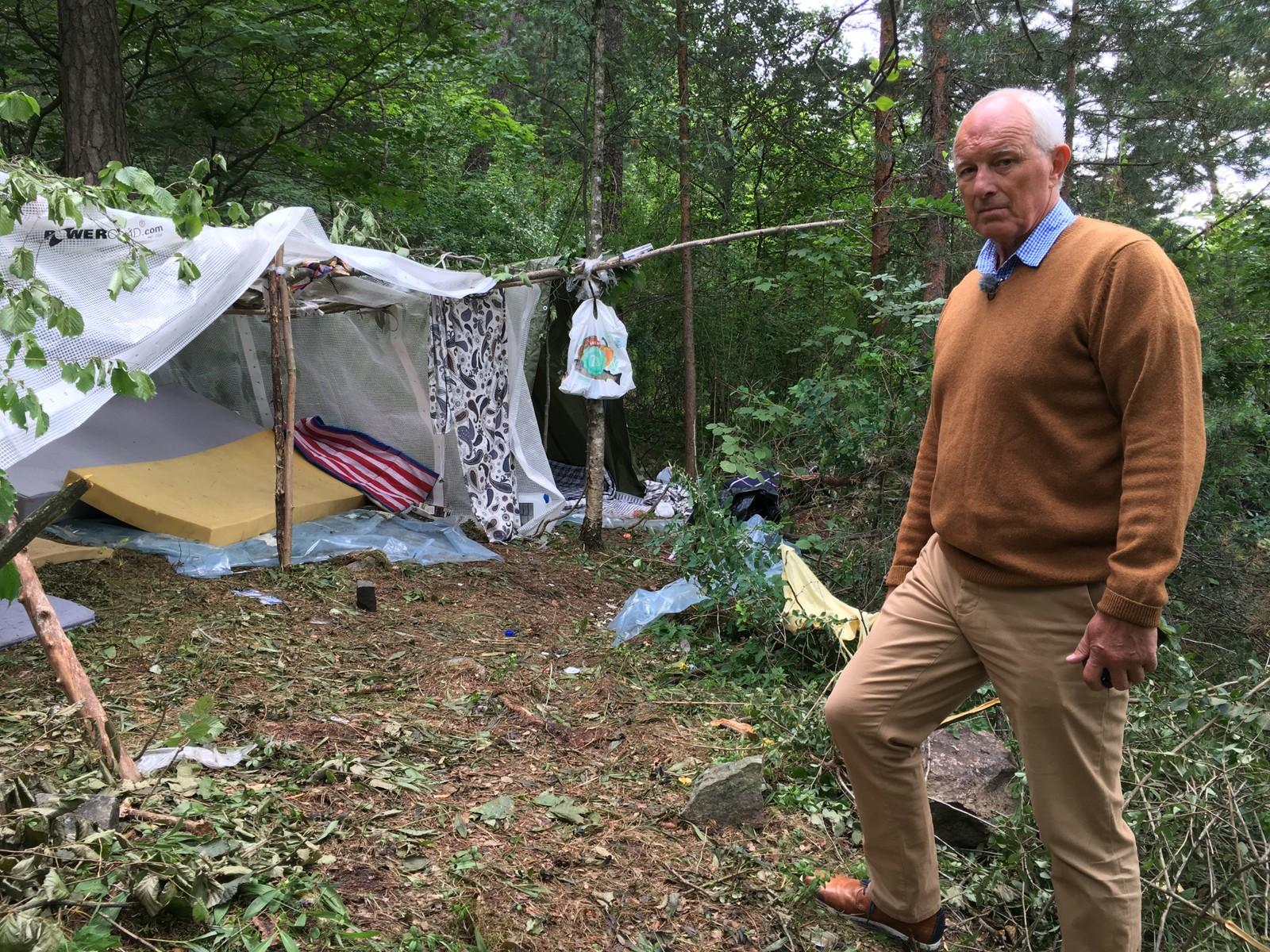 FORTVILET: Ruskengeneral Jan Hauger er frustrert over samarbeidet med politiet.