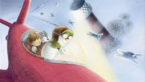 Britisk animasjonsfilm.Gutten, snømannen og snøhunden flyr av gårde på en magisk reise for å møte julenissen.