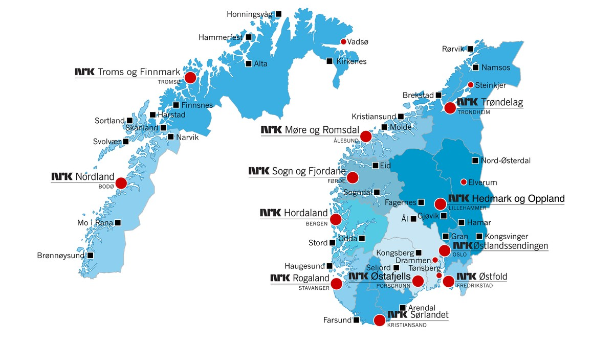 flyplasser norge kart Navet i NRK – Om NRK – Oppdrag flyplasser norge kart