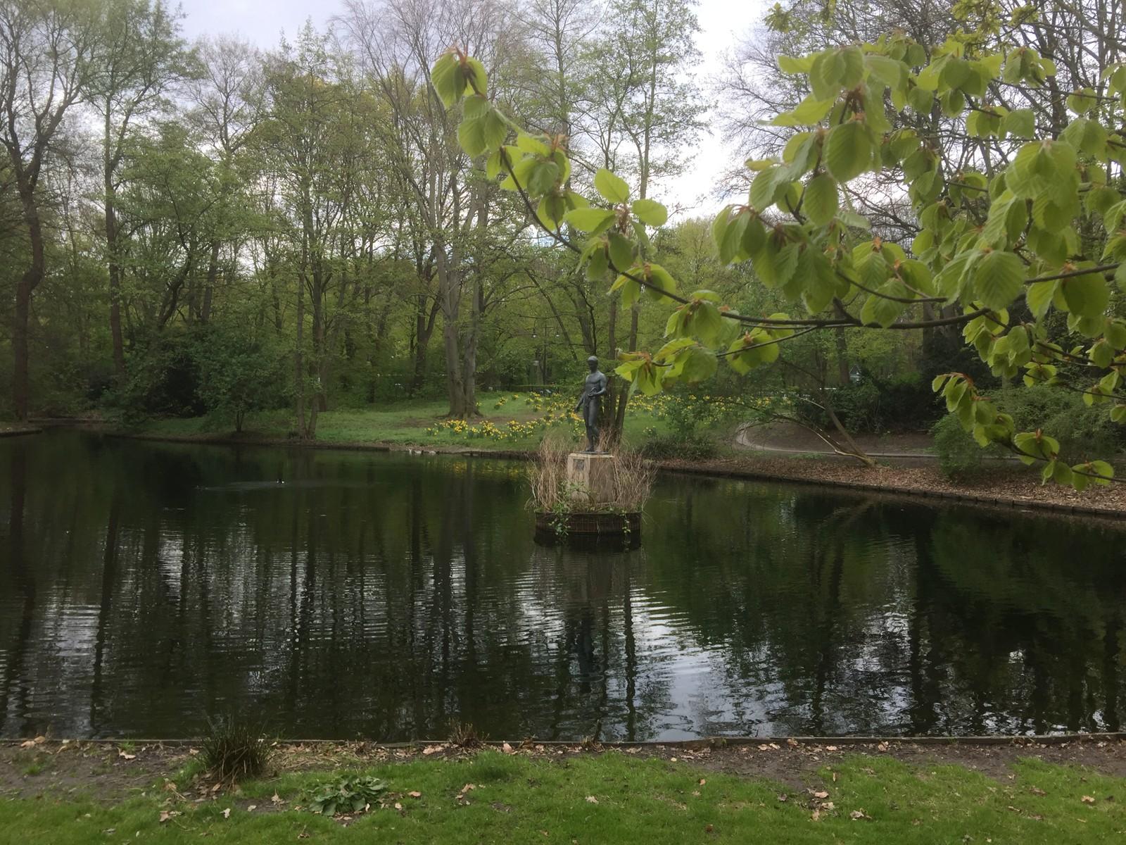 FOLK FLEST. På 1700-tallet ble parken åpnet for folk flest av Kong Fredrik den store av Preussen.