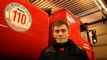 Brannsjef Alf Isaksen må forklare seg for ledelsen i Karasjok kommune.