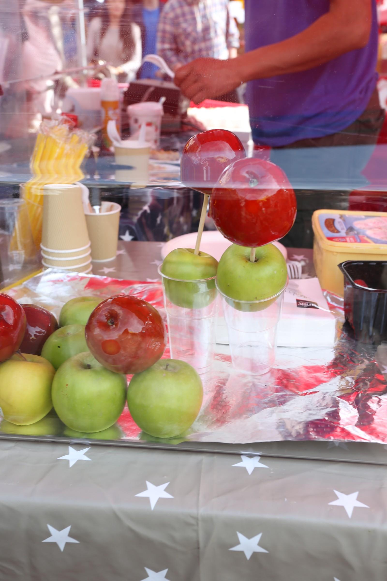 Kanskje eit glasert eple kan freiste?