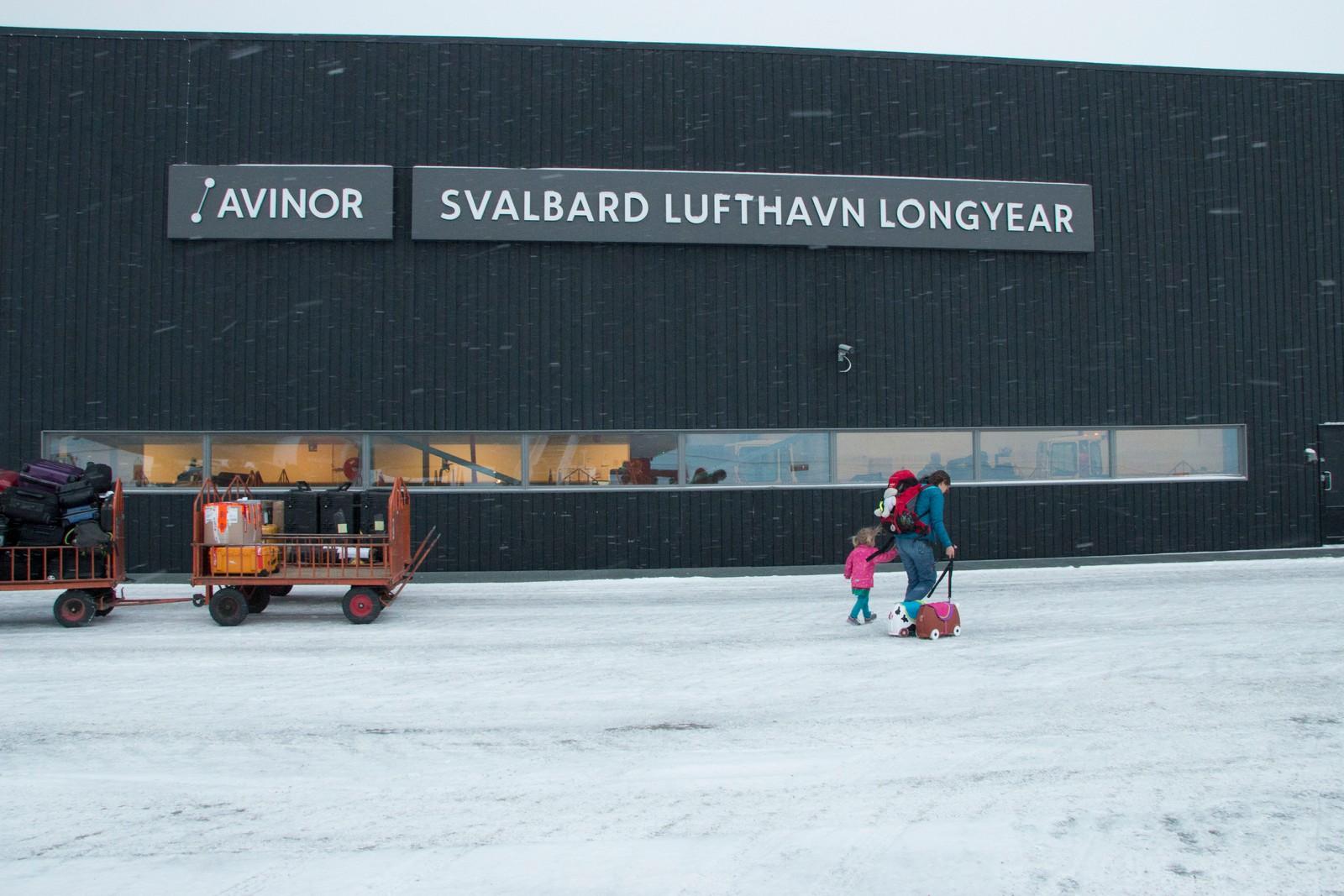 Svalbard Lufthavn Longyear.