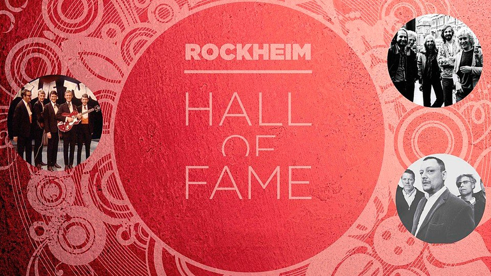 Rockheim Hall of Fame 2017